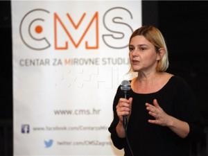 Na slici Sandra Benčić. Foto Hina/ Dario GRZELJ/ dag