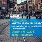 ODRAZ poziva stanovnike Ilice na razgovor o mobilnosti u centru grada