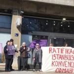 Prosvjedna akcija i peticija: Žene Hrvatske za ratifikaciju Istanbulske konvencije