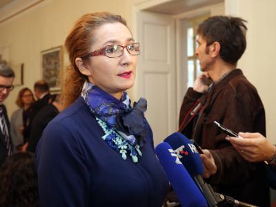 Na fotografiji Pravobraniteljica za ravnopravnost spolova RH Višnja Ljubičić. foto HINA/ Denis CERIĆ /dc