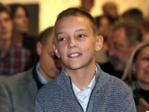 Dobitnik nagrade Luka Gnjidić, foto HINA / Zvonimir KUHTIĆ /zk