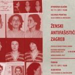 Ženski antifašistički Zagreb: izložba i tribina u Splitu