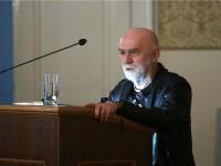 Na fotografiji Stjepan Šterc tijekom govora. foto HINA/ Denis CERIĆ /dc
