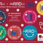 """Hrvatski Caritas pokrenuo akciju """"Za 1000 radosti"""" – """"Daruj i obraduj"""""""