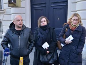 Na fotogrfiji Gordan Bosanac, Tanja Tadić, Sanja Bezbradica Jelavić. foto HINA/ Admir BULJUBAŠIĆ/ abu