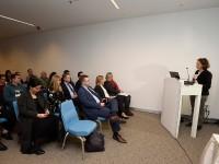 Na radionici su sudjelovali ministrica kulture Nina Obuljen Koržinek i ministar rada i mirovinskog sustava Marko Pavić.  Foto : HINA / Mario Strmotić