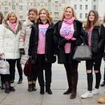 Zagreb: Šetnja u ružičastim majicama protiv vršnjačkog nasilja