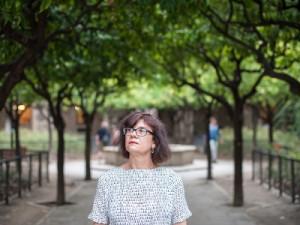 Barcelone 22/08/2014. Catherine Malabou, philosophe française. Maître de conference à l'université Paris Ouest Nanterre, actuellement détachée comme professeure au Centre for Modern European Philosophy de lUniversité de Kingston (U.K).