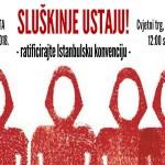 Najavljen novi prosvjed hrvatskih 'sluškinja': Izlazit ćemo na ulice sve dok se ne ratificira Istanbulska konvencija!