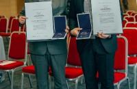 Na fotografiji nagrađeni Vlado Brajko, vlasnik obrta BRAJKO PRIJEVOZ iz Piškorevaca (L) i Ivan Zadravec iz tvrtke Zadravec d.o.o. iz Branjinog Vrha, Foto: Zaklada Slagalica