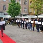 """Međunarodni tjedan protiv uličnog uznemiravanja u nedjelju otvara """"modna revija"""" na Cvjetnom trgu"""