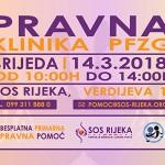 Besplatna pravna pomoć u udruzi SOS Rijeka i ovaj mjesec