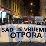 """Povodom Međunarodnog dana žena protestna akcija u Zagrebu: """"Blagajnica hoće ići na more!"""""""