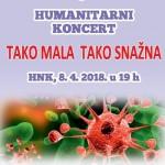 Udruga Leukemija i limfomi poziva na humanitarni koncert 'Tako mala tako snažna'