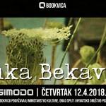 Bookvica ugošćuje Luku Bekavca
