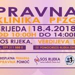 Pravna klinika ponovno pruža primarnu besplatnu pravnu pomoć u udruzi SOS Rijeka