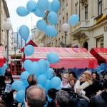 """Puštanjem balona obilježen Svjetski dan svjesnosti o autizmu s porukom """"Ne želimo više raditi posao države"""""""