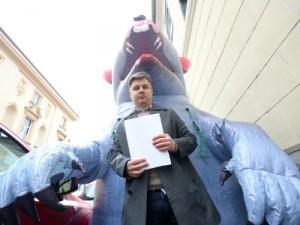 "Na slici redatelj filma ""Gazda"" Dario Juričan.  foto HINA/ Daniel KASAP/ ua"