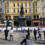 FOTO: Performans za podršku trajnoj sterilizaciji danas održan u Zagrebu