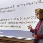 Predstojnica Katedre za ustavno pravo Sanja Barić: 'U Istanbulskoj konvenciji nema ništa sporno'