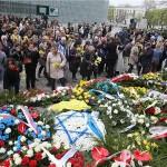 Varšava okićena narcisima za 75. obljetnicu ustanka u getu
