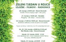 Zeleni tjedan u Rojcu: izložba, eko vikend, filmovi