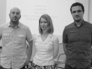 Sven Marcelić, Željka Tonković i Krešimir Krolo Foto: Zadarski list