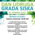 Manifestaciji Dani udruga 2018. pridružuje se i grad Sisak