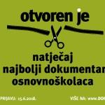 Otvoren natječaj za prijave dokumentarnih filmova za 11. Mali DOKUart