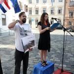 Zelena akcija performansom zatražila smjenu ministra Ćorića