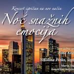 Humanitarni koncert 'Noć snažnih emocija' u HGZ-u
