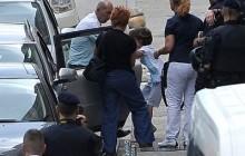 Na fotografiji: otac Alessando Avenati dovodi Cesarea u svoj automobil. Foto: Nikola Vilić / CROPIX