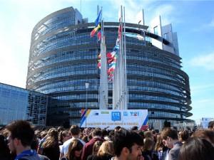 U Strasbourgu počeo Europski događaj za mlade 2016 (EYE), foto HINA/ Ivan ŠARAVANJA/