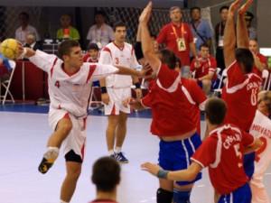 Na slici hrvatski rukometaš Oliver Lušić, strijelac 9 golova u finalnoj utakmici. foto FaH/ Robertino Šalinović