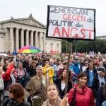 Masovni prosvjedi u Muenchenu protiv skretanja društva udesno
