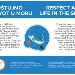 """Prijatelji životinja pokrenuli kampanju """"Poštujmo naše more"""""""