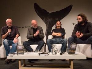 """""""Ako i postoji neka književna scena, ja na toj književnoj sceni ne postojim"""" - Amir Alagić na predstavljanju svoje knjige u Puli (FOTO: sanjamknjige.hr)"""