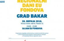 Bakar ugošćuje Regionalne dane EU fondova