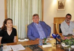 Slobodanka Mišković, Vojko Obersnel i Slaven Tolj / Foto: S. JEŽINA
