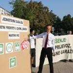 Zelena akcija o garažama u centru: Bandić stavlja krivu stvar na krivo mjesto