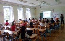Uvodno predavanje studentima, Foto: dkau-centar.eu
