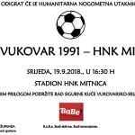 """Humanitarna nogometna utakmica između HNK Vukovar 1991 i HNK """"Mitnica"""""""
