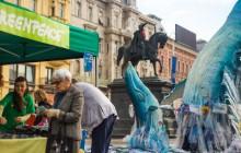 Kitovi na Jelačićevom trgu impresioniraju prolaznike