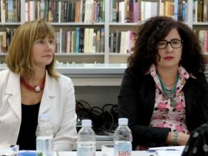 Na fotografiji Suzana Horvat Kutle, Jadranka Ivandić Zimić. foto HINA/ Edvard ŠUŠAK