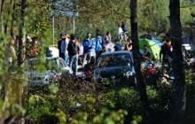 Na slici pripadnici policije kordonom spriječavaju migrante da pređu hrvatsku granicu kod graničnog prijelaza Maljevac. foto HINA/ Mladen VOLARIĆ