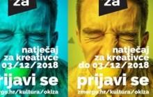 Poziv na natječaj za kreativce / OKiZA 2018.