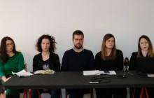 Na fotografiji Željka Gracin, Ana Vračan, Ivan Novosel, Sara Lalić, Svjetlana Knežević. foto HINA/ Edvard ŠUŠAK/