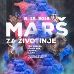 Drugi Marš za životinje u Zagrebu