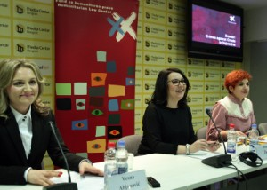 Na slici: Vesna Abjanović (L), Ivana Žanić (S),  Jovana Kolarić (D), foto HINA/ TANJUG