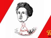 Rosa Luxemburg - autorica ilustracije Nataša Rašović Bodiš